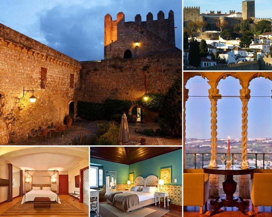 dormir em Óbidos: castelo