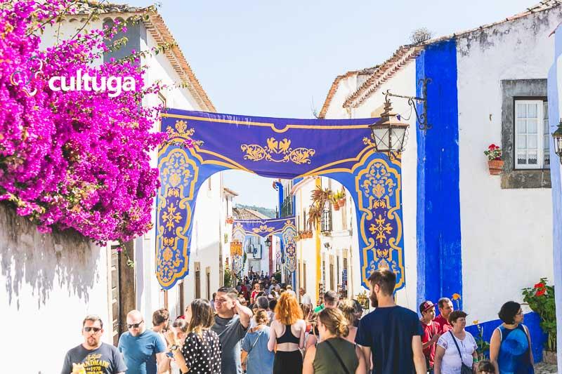 Mercado Medieval de Óbidos Portugal