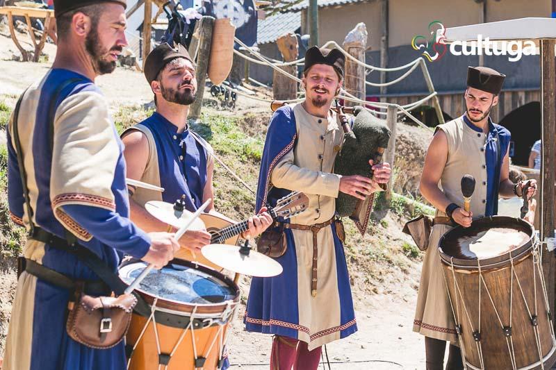 Música no Mercado Medieval de Óbidos