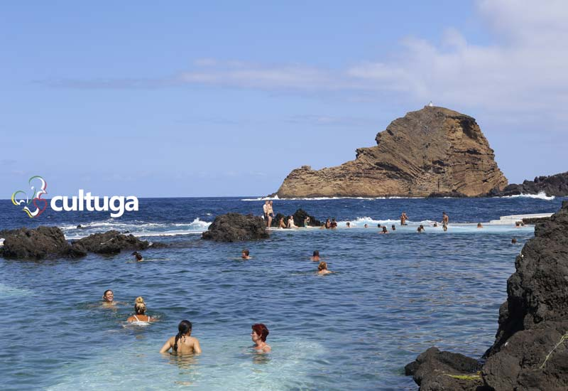 Visitar Ilha da Madeira: piscinas naturais de Porto Moniz