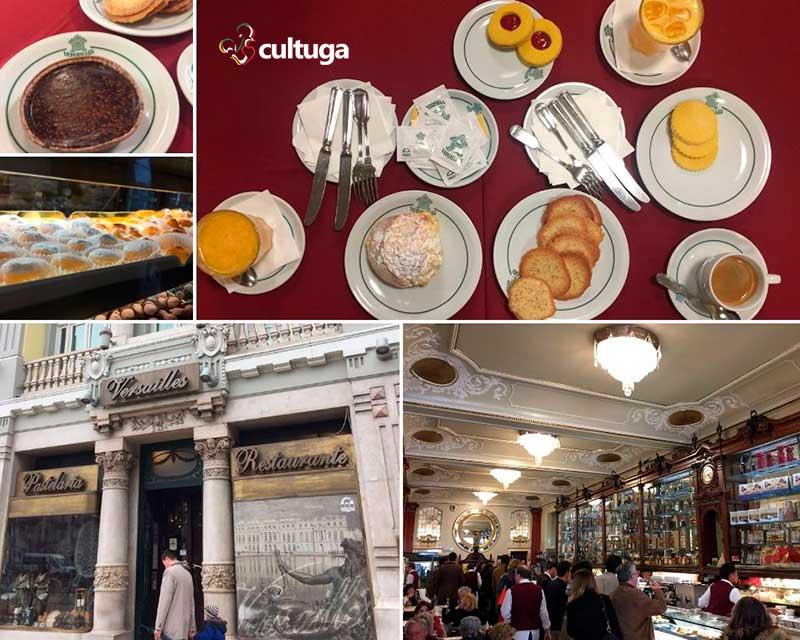 Cafés em Lisboa: Pastelaria Versailles