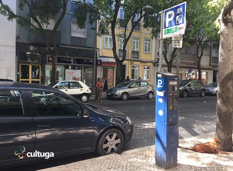 parquímetro portugal cultuga