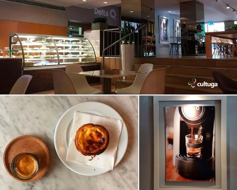 Cafés em Lisboa - Delta Q Avenida
