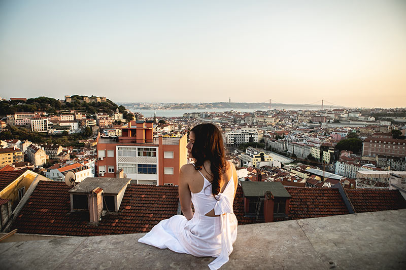 Fotógrafo brasileiro em Lisboa
