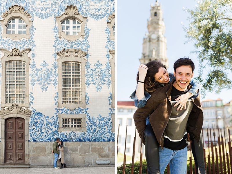 Ensaio Fotográfico no Porto, Portugal, casal