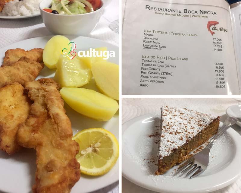 Restaurante na Ilha Terceira: Boca Negra