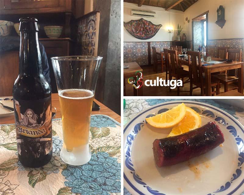 Restaurante na Ilha Terceira: Caneta