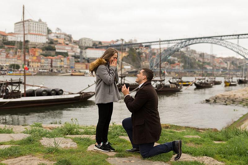 Pedido de casamento em Porto Portugal