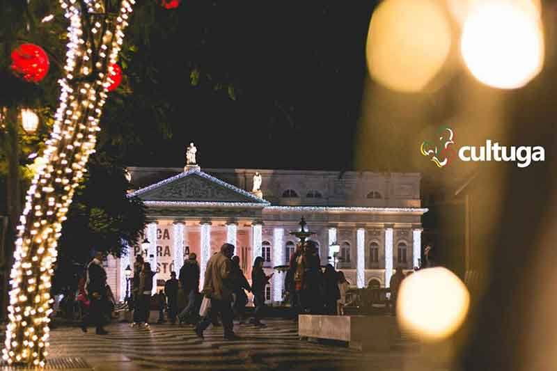 Luzes de Natal Lisboa