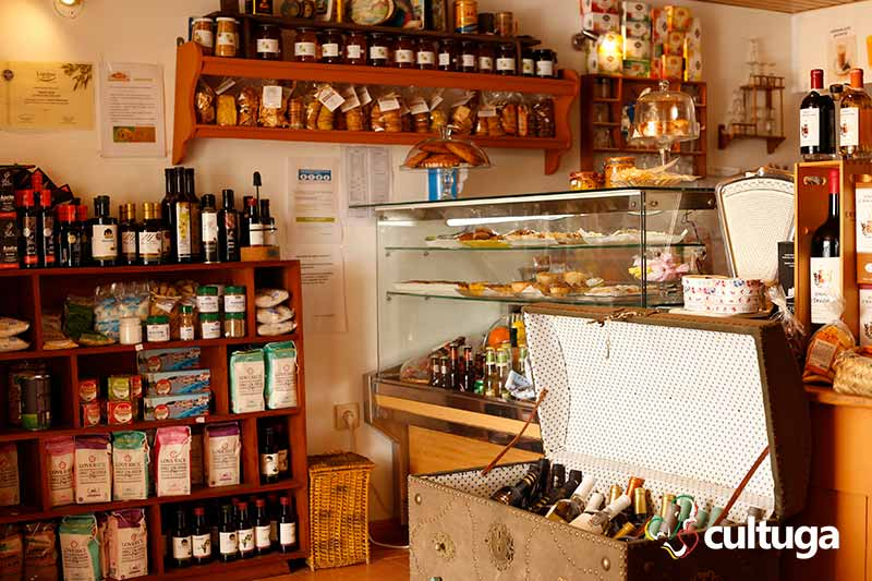 Mercearia e Café em Alcácer do Sal, no Alentejo