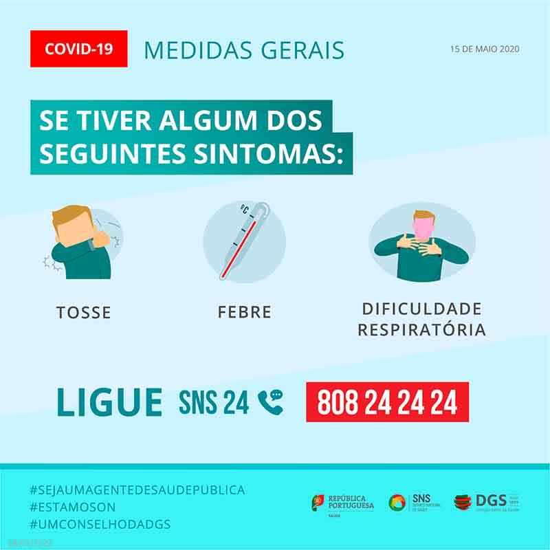 sintomas covid-19 portugal