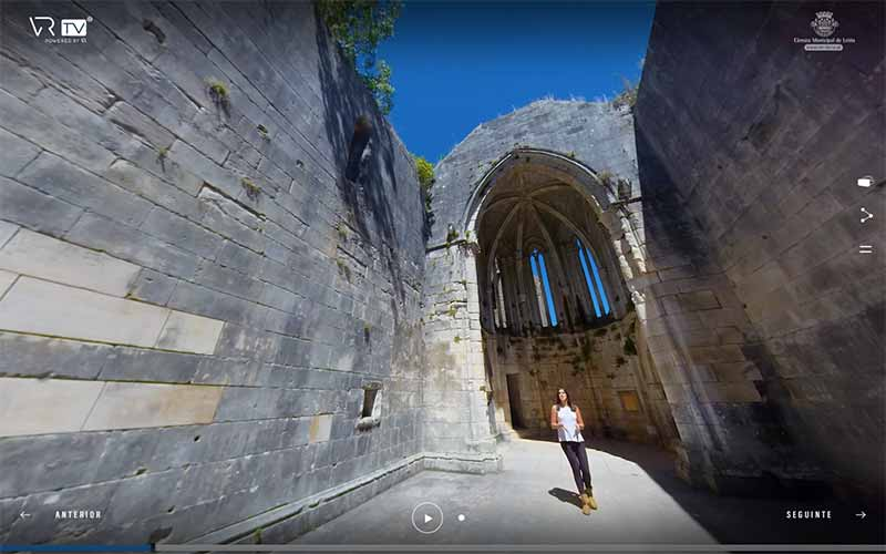 tour virtual Castelo de Leiria
