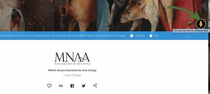 Visita virtual ao museu de arte antiga de Lisboa