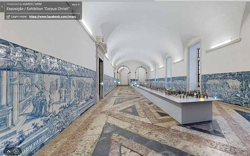 Tour virtual em Portugal: exposição em Lisboa