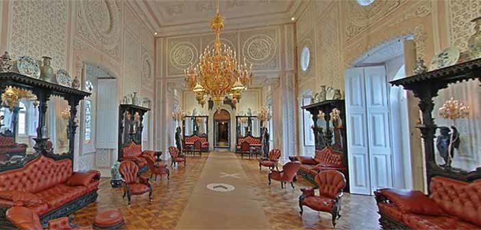 palacios em portugal tour virtual