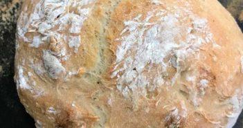 Receita de pão português - Bola de água