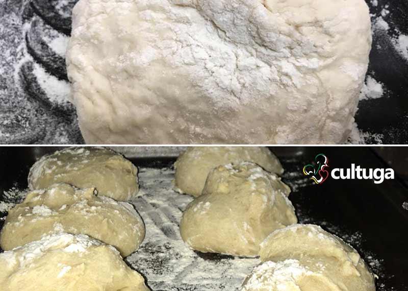 Receita de pão português