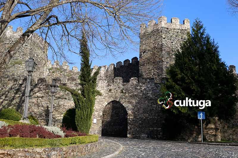 tras os montes Portugal: castelo de Bragança
