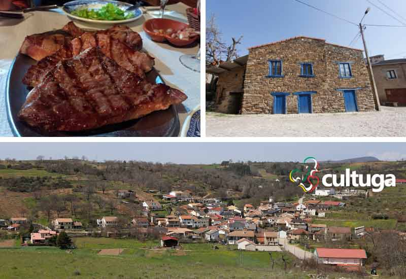 Tras os montes portugal: aldeia de Varge