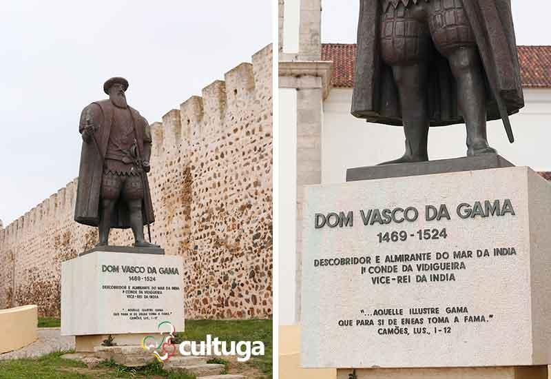 Estátua de Vasco da Gama em Sines
