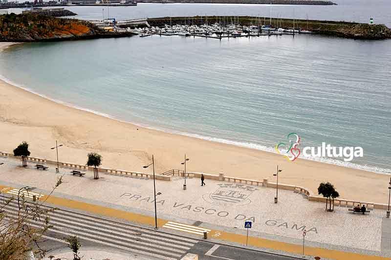 Praia Vasco da Gama Sines