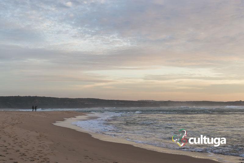 pôr-do-sol na costa alentejana