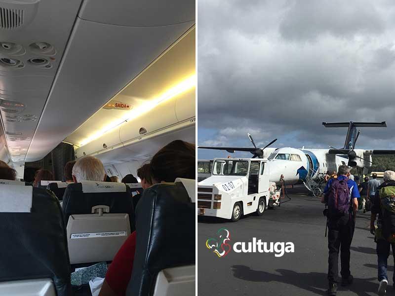 voos ilhas São Jorge açores