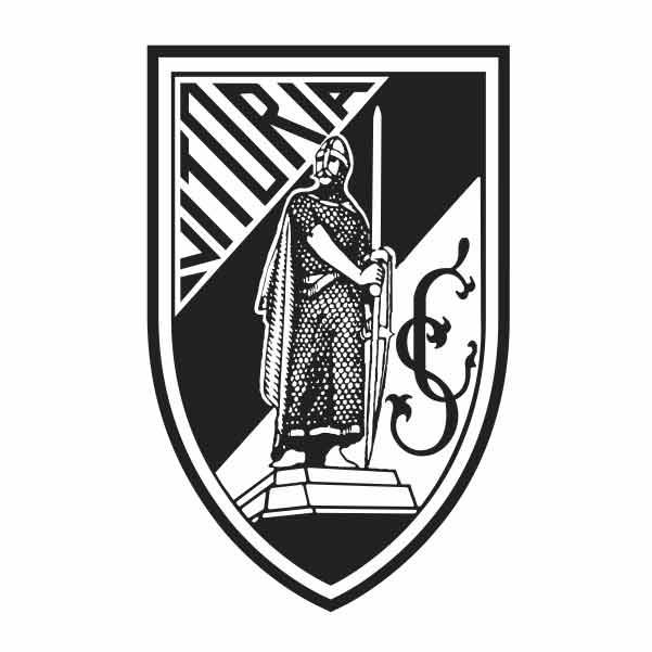 emblema time vitoria de guimaraes com Afonso Henriques
