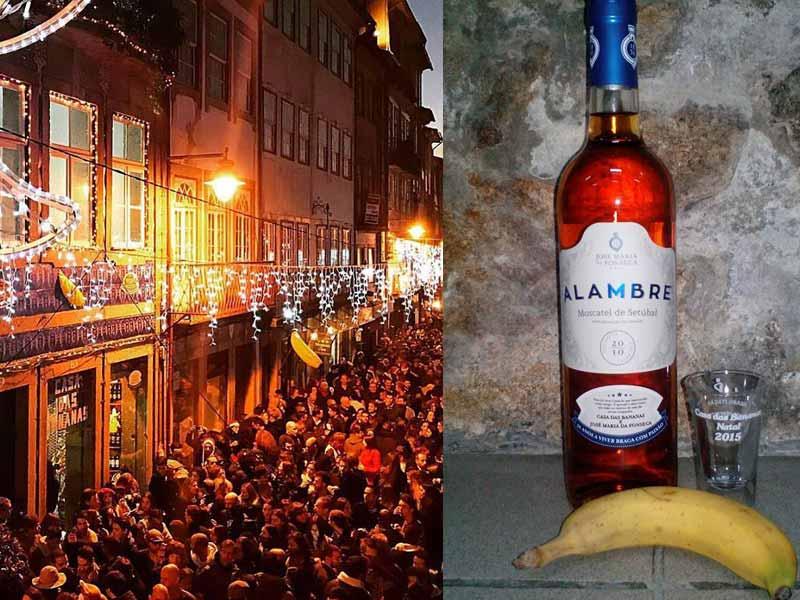 Natal em Portugal: Bananeiro de Braga