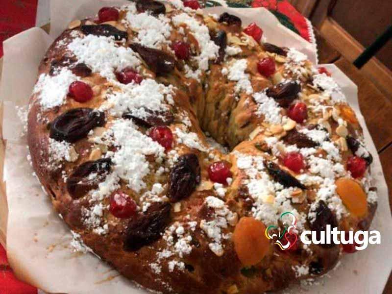 bolo rei português