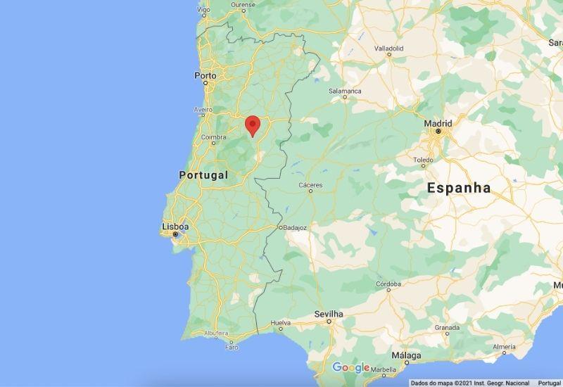 Onde fica a Serra da Estrela Portugal