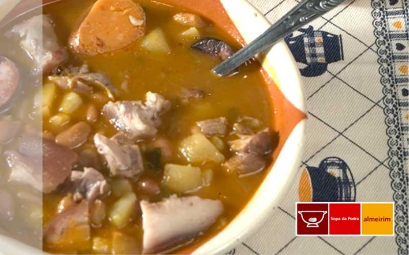 Sopas portuguesas: sopa da pedra