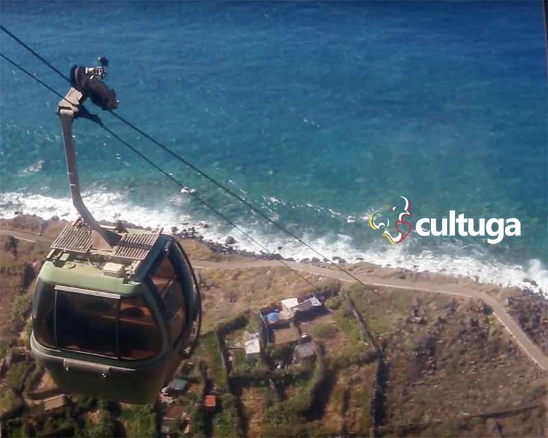 Teleférico da Madeira: Achadas da Cruz