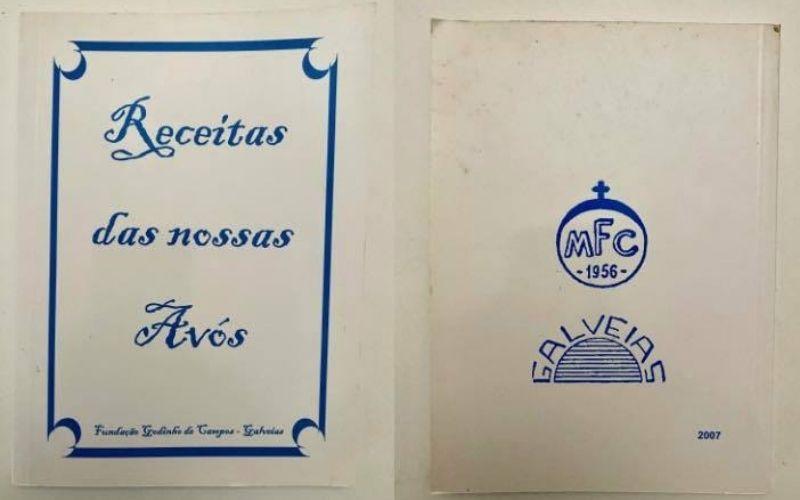 Livro de receitas portuguesas antigas