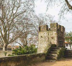 Santarém: jardim histórico com vista panorâmica sobre o Tejo
