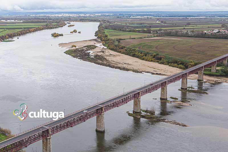 Rio Tejo em Santarém portugal
