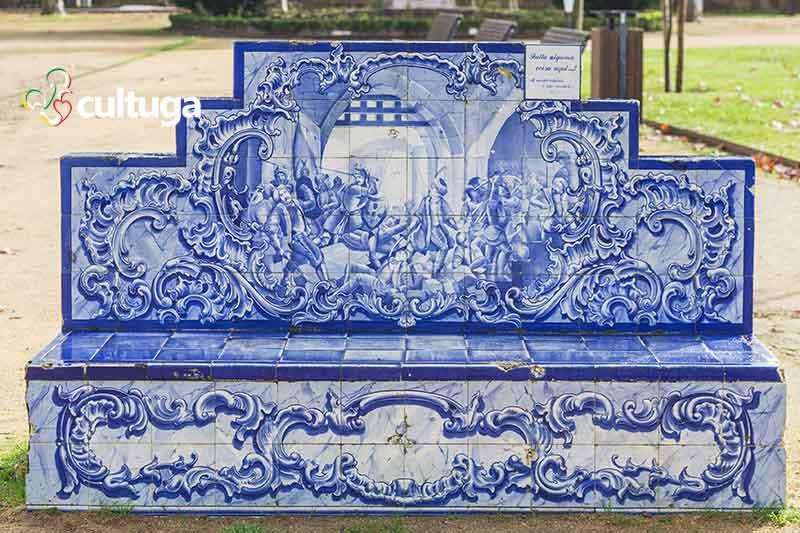 Jardim das Portas do Sol Santarém Portugal