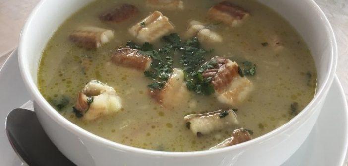 Sopas Portuguesas: sopa de cação Cultuga