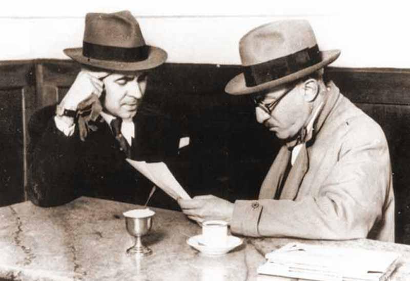 Fernando Pessoa no Café Martinho da Arcada