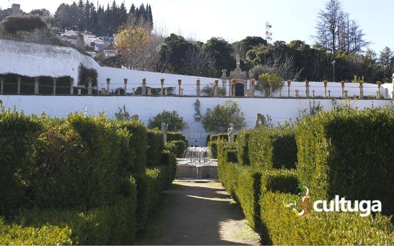 Castelo Branco: jardim do paço episcopal