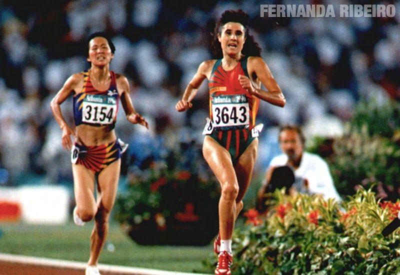 Campeões olímpicos de Portugal: Fernanda Ribeiro