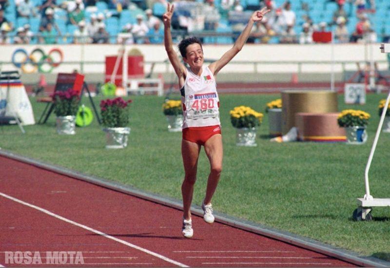 Campeões olímpicos portugueses: Rosa Mota