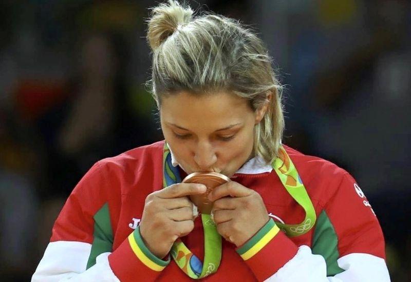 Portugal nas Olimpiadas: Telma Monteiro