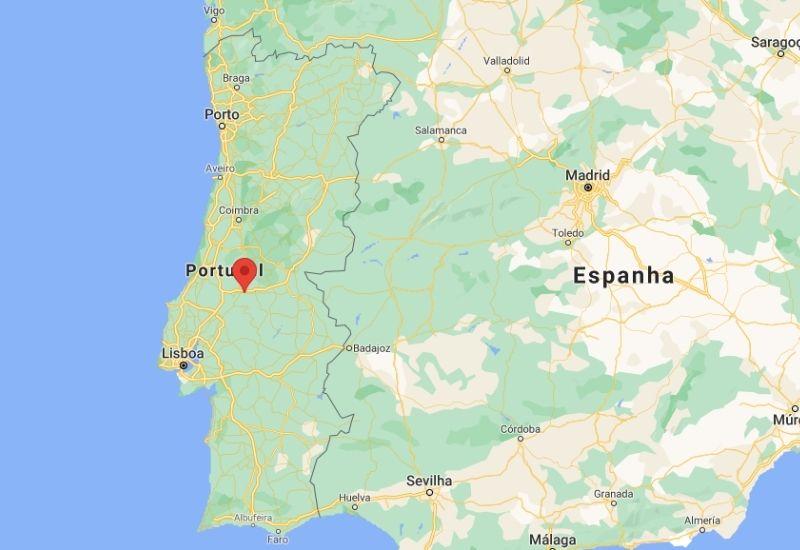 Mapa Constância Portugal