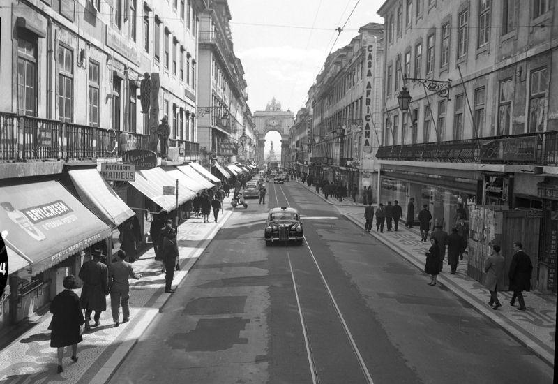 Rua Augusta antigamente