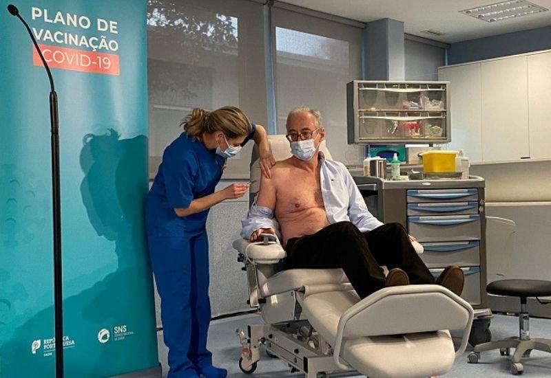Primeira vacina covid portugal
